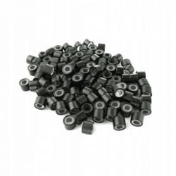 Mikroringi z silikonem 100 sztuk